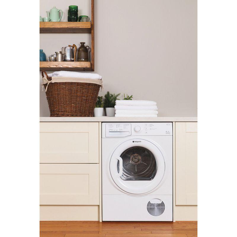Hotpoint-Dryer-TCFS-93B-GP--UK--White-Lifestyle-frontal