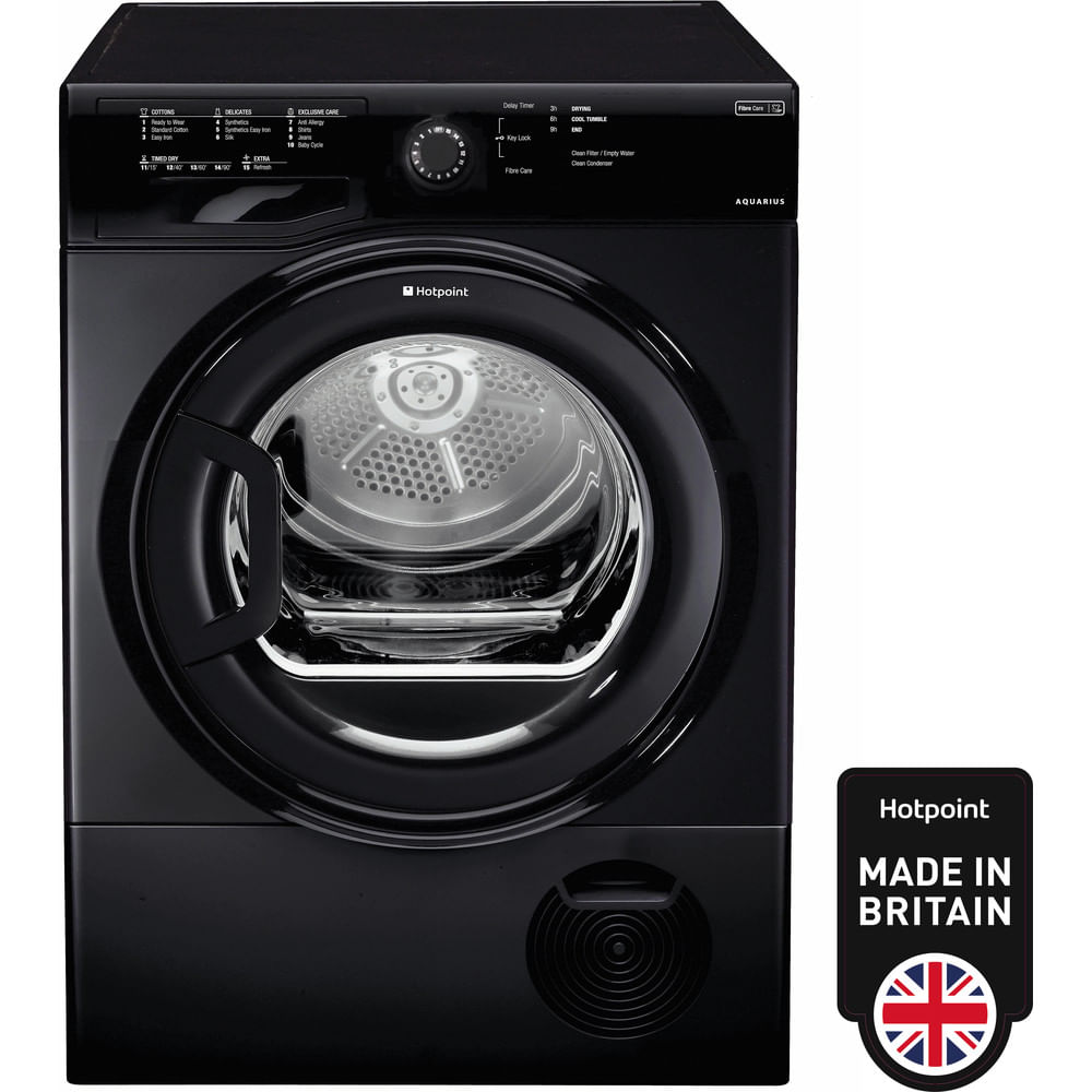 Hotpoint Freestanding tumble dryer TCFS 83B GK (UK) : discover the specifications of our home appliances and bring the innovation into your house and family.