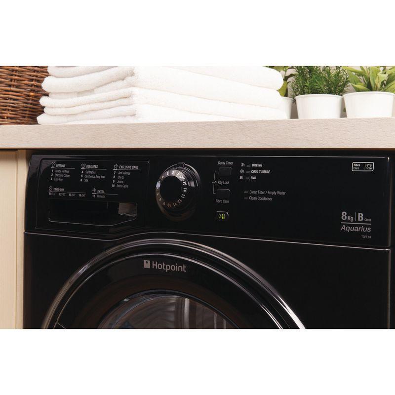 Hotpoint-Dryer-TCFS-83B-GK--UK--Black-Lifestyle_Control_Panel