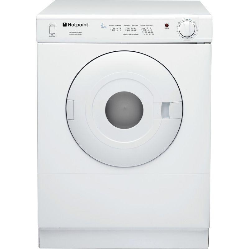 Hotpoint-Dryer-V4D-01-P--UK--White-Frontal