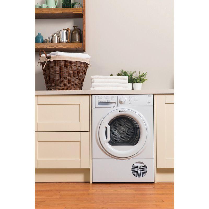 Hotpoint-Dryer-TCFS-73B-GP--UK--White-Lifestyle-frontal