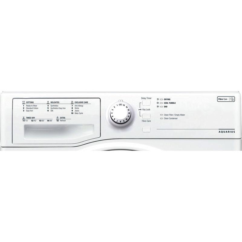 Hotpoint-Dryer-TCFS-73B-GP--UK--White-Control-panel