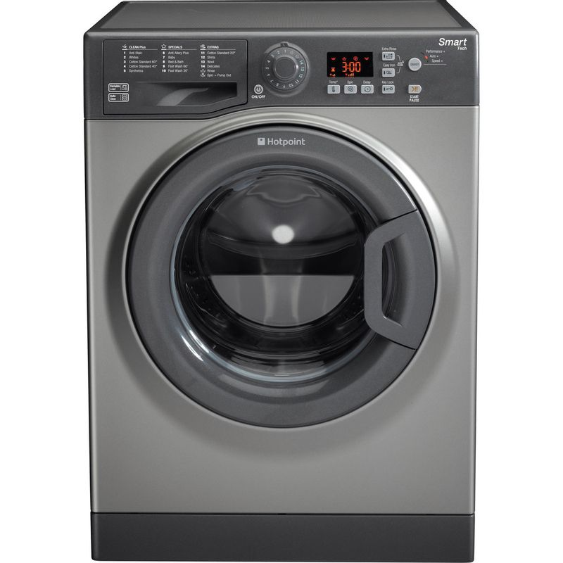 Hotpoint-Washing-machine-Free-standing-WMFUG-742G-UK-Graphite-Front-loader-A---Frontal