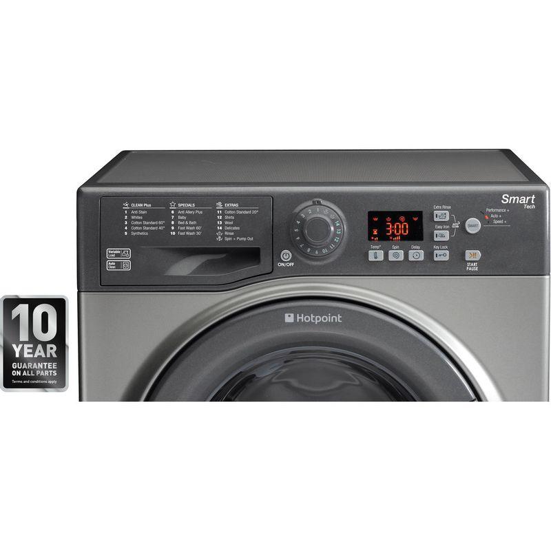 Hotpoint-Washing-machine-Free-standing-WMFUG-742G-UK-Graphite-Front-loader-A---Award