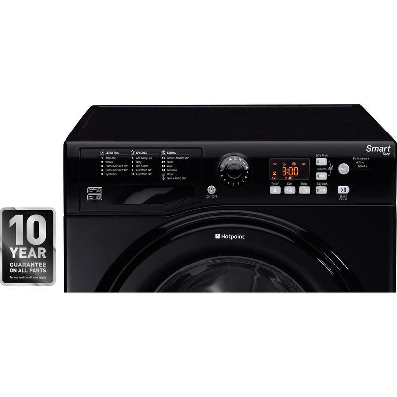 Hotpoint-Washing-machine-Free-standing-WMFUG-842K-UK-Black-Front-loader-A---Award