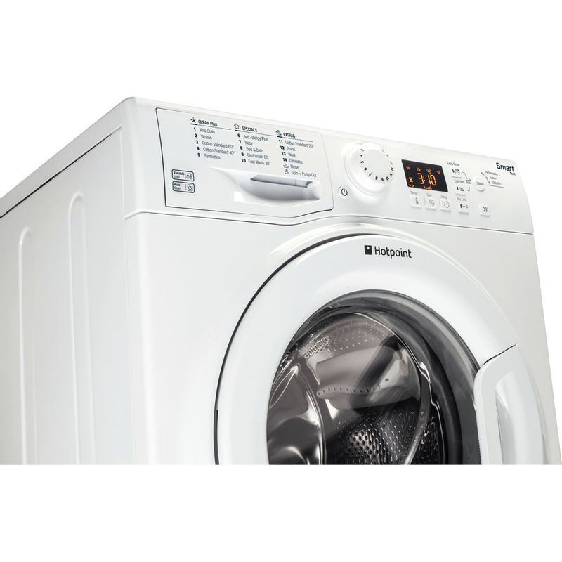 Hotpoint-Washing-machine-Free-standing-WMFUG-942P-UK-White-Front-loader-A---Perspective