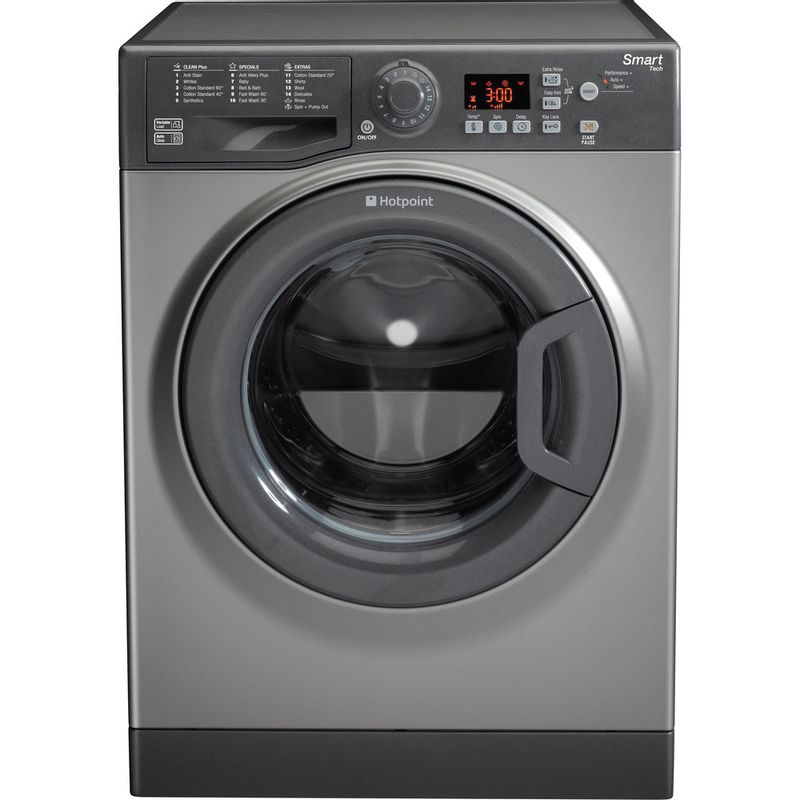 Hotpoint-Washing-machine-Free-standing-WMFUG-942G-UK-Graphite-Front-loader-A---Frontal