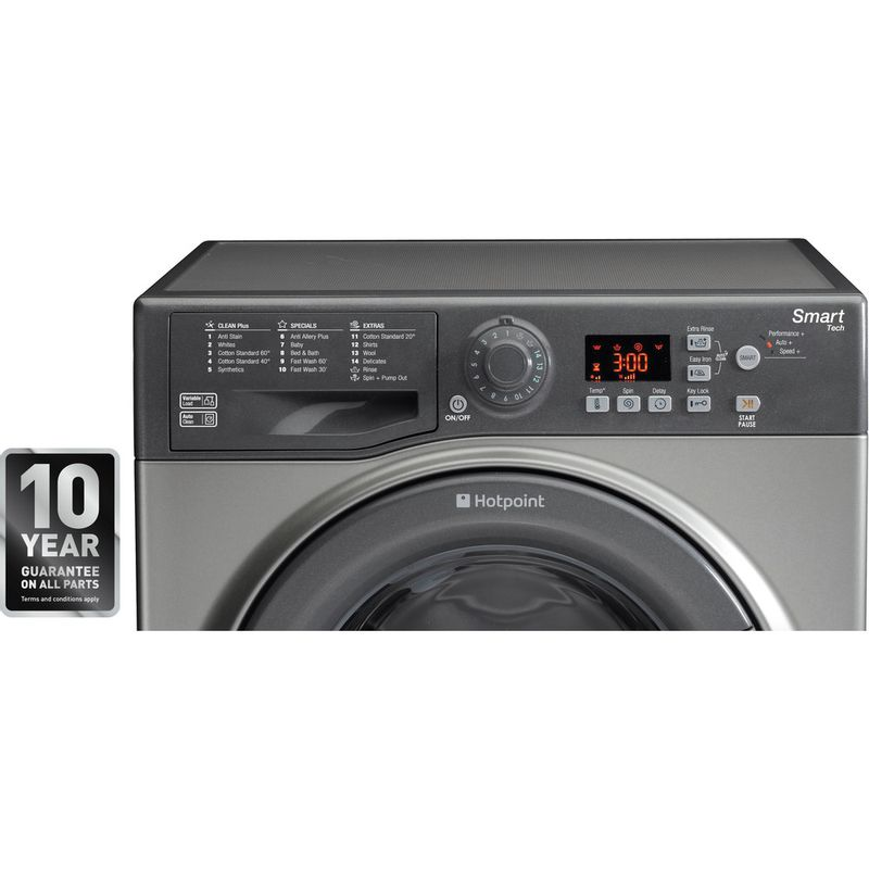 Hotpoint-Washing-machine-Free-standing-WMFUG-942G-UK-Graphite-Front-loader-A---Award