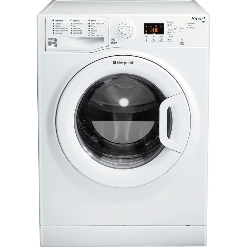 Hotpoint-Washing-machine-Free-standing-WMFUG-1063P-UK-White-Front-loader-A----Frontal