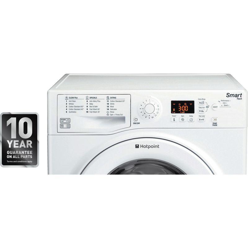 Hotpoint-Washing-machine-Free-standing-WMFUG-1063P-UK-White-Front-loader-A----Award