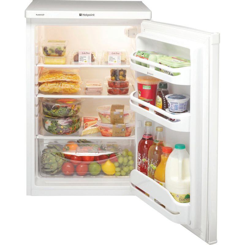 Hotpoint-Refrigerator-Free-standing-RLAAV22P.1-White-Frontal_Open