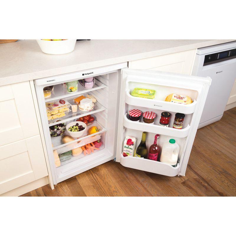 Hotpoint-Refrigerator-Free-standing-RLAAV22P.1-White-Drawer