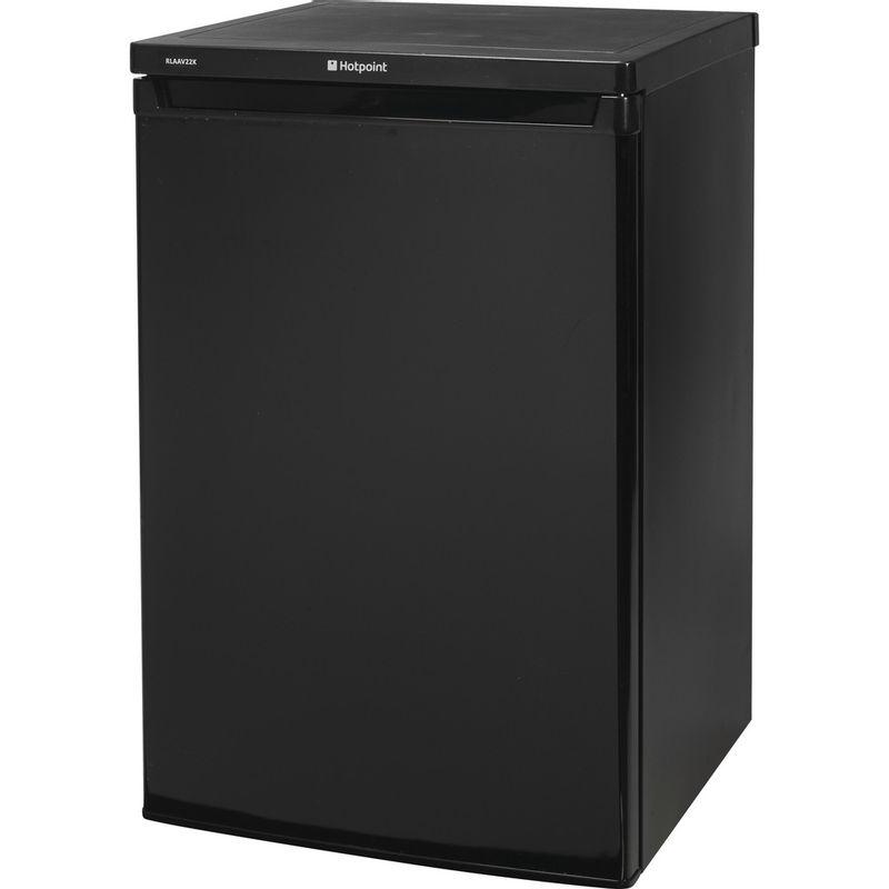 Hotpoint-Refrigerator-Free-standing-RLAAV22K.1-Black-Perspective