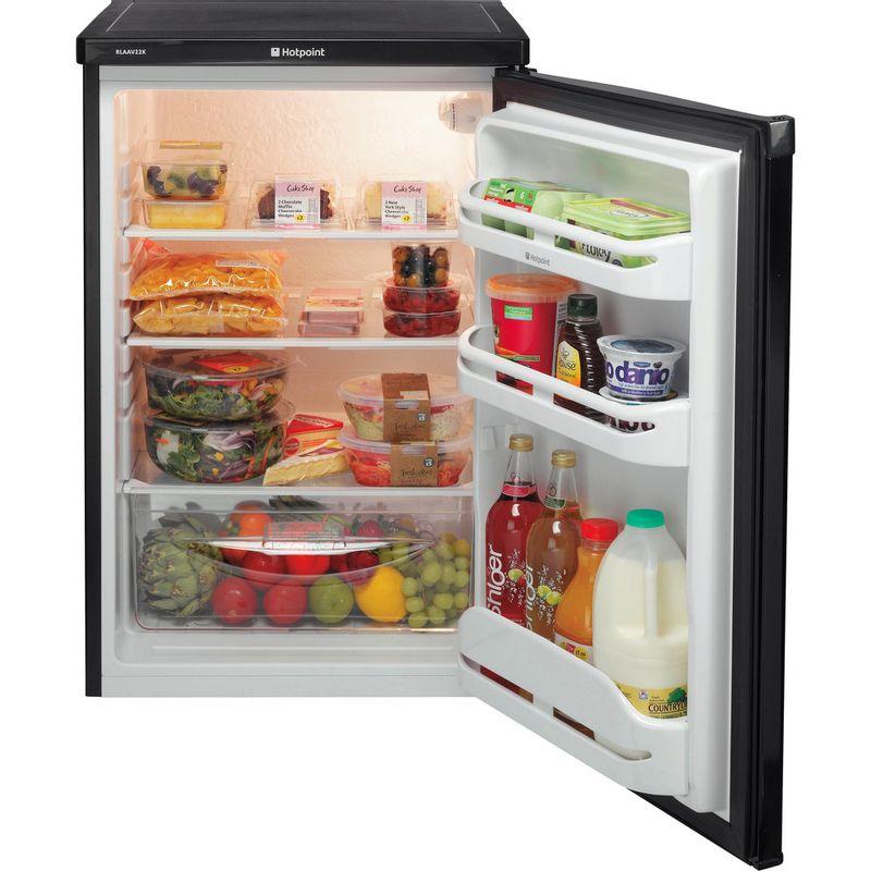 Hotpoint-Refrigerator-Free-standing-RLAAV22K.1-Black-Frontal_Open