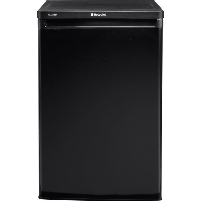 Hotpoint-Refrigerator-Free-standing-RLAAV22K.1-Black-Frontal