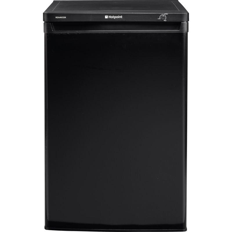 Hotpoint-Freezer-Free-standing-RZAAV22K.1-Black-Frontal