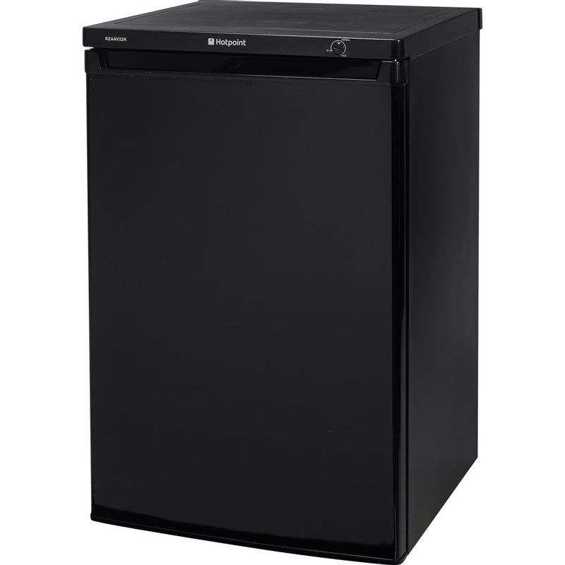 Hotpoint-Freezer-Free-standing-RZAAV22K.1-Black-Perspective