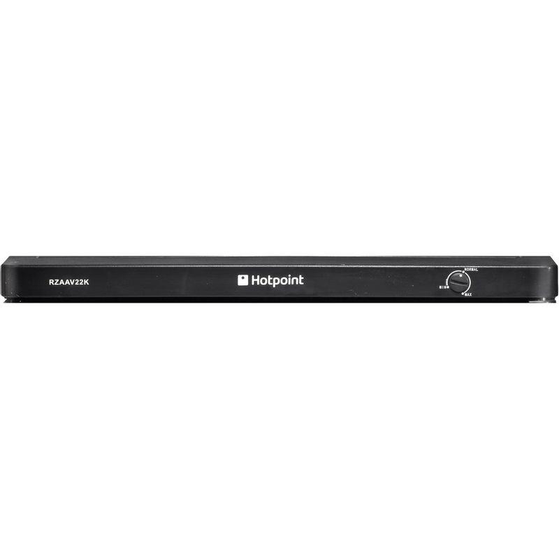 Hotpoint-Freezer-Free-standing-RZAAV22K.1-Black-Control-panel