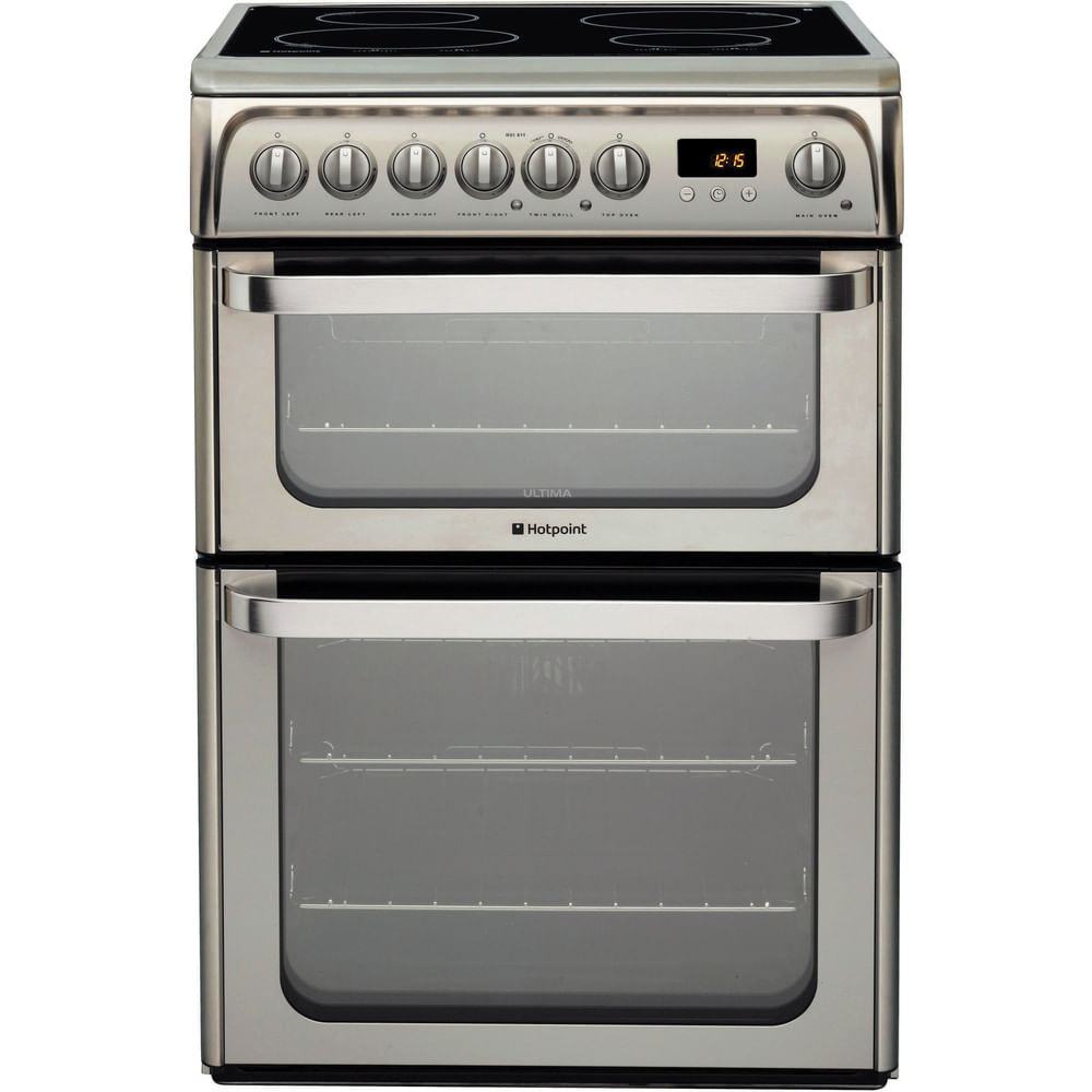 Hotpoint Double Cooker HUI611 X : discover the specifications of our home appliances and bring the innovation into your house and family.