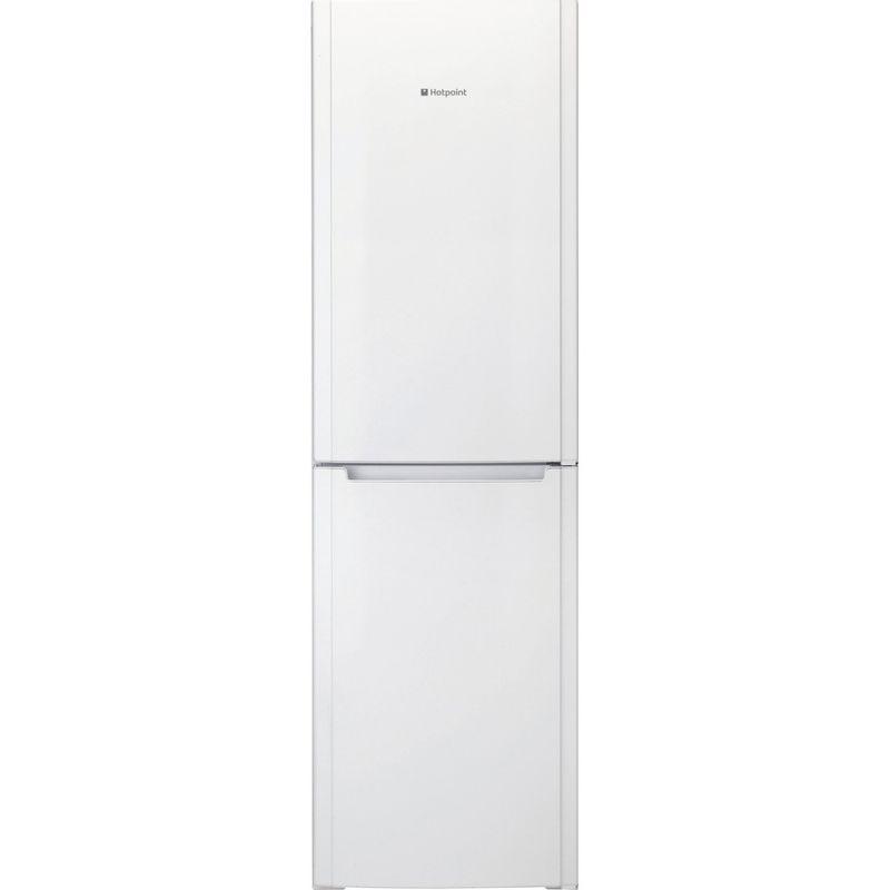 Hotpoint-Fridge-Freezer-Free-standing-FSFL58W-White-2-doors-Frontal