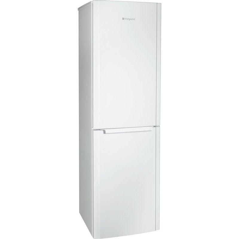 Hotpoint-Fridge-Freezer-Free-standing-FSFL58W-White-2-doors-Perspective