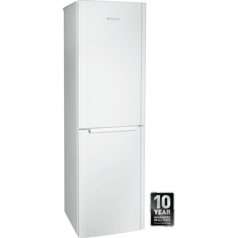 Hotpoint-Fridge-Freezer-Free-standing-FSFL58W-White-2-doors-Award