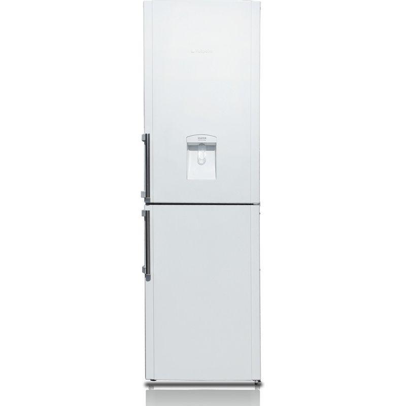 Hotpoint-Fridge-Freezer-Free-standing-FFLAA58WDW-White-2-doors-Frontal