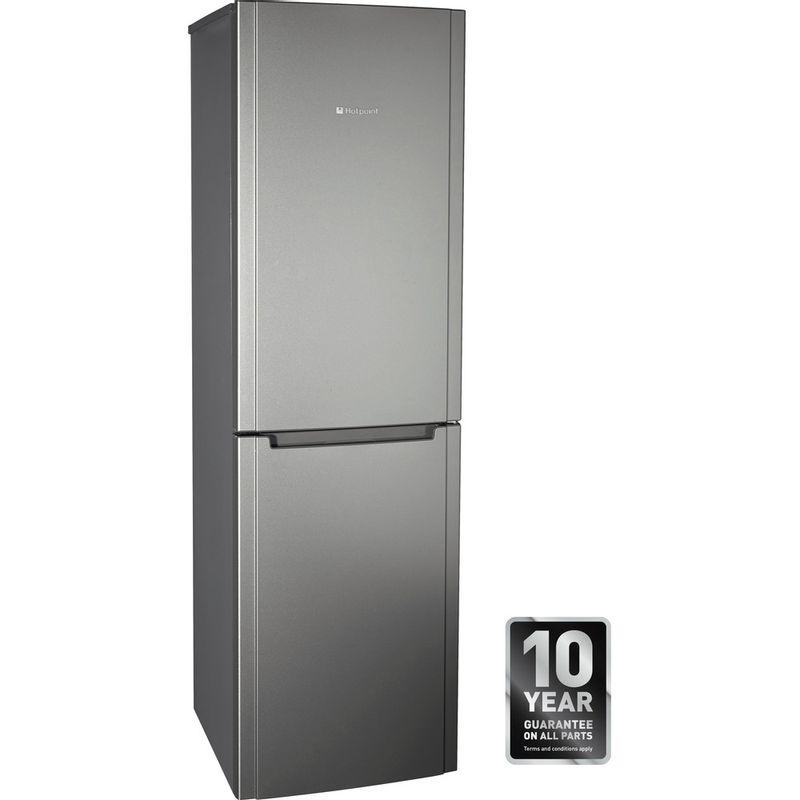Hotpoint-Fridge-Freezer-Free-standing-FSFL58G-Graphite-2-doors-Award
