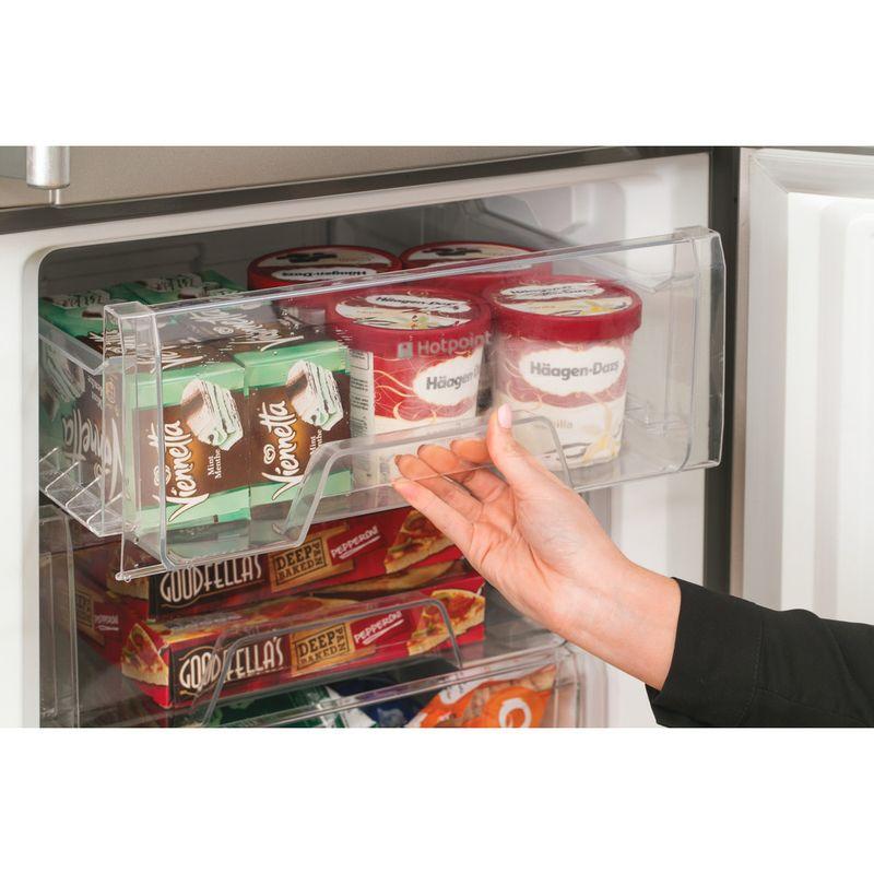 Hotpoint-Fridge-Freezer-Free-standing-FFLAA58WDG-Graphite-2-doors-Lifestyle_People