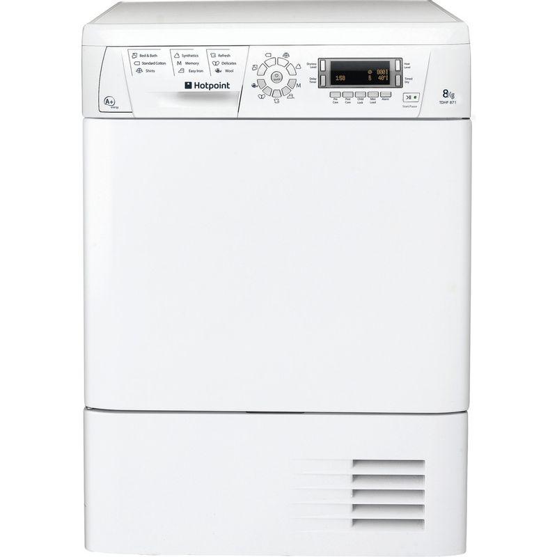Hotpoint-Dryer-TDHP-871-RP--UK--White-Frontal