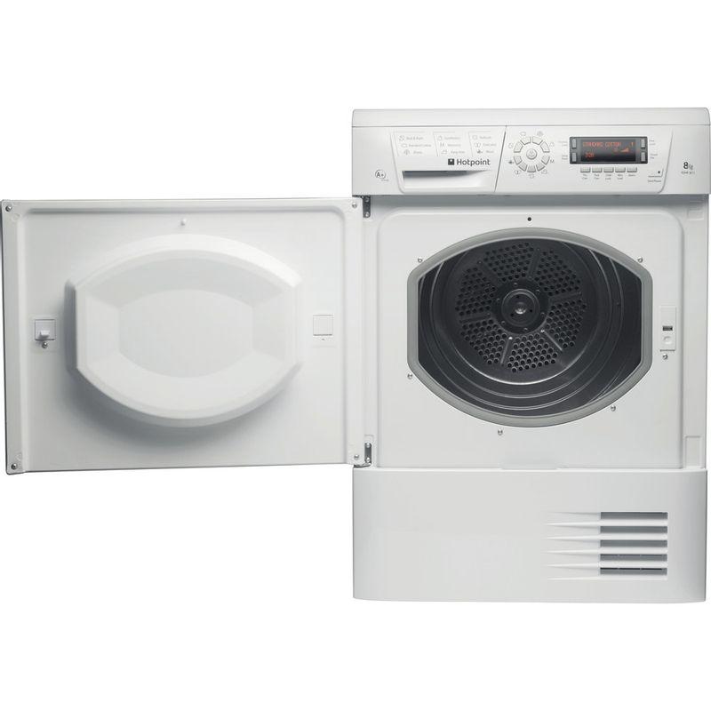 Hotpoint-Dryer-TDHP-871-RP--UK--White-Frontal-open