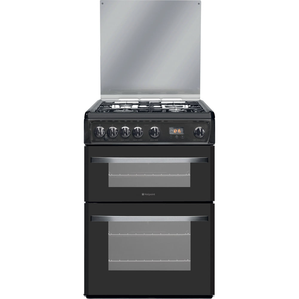 Hotpoint Double Cooker DSG60GM : discover the specifications of our home appliances and bring the innovation into your house and family.