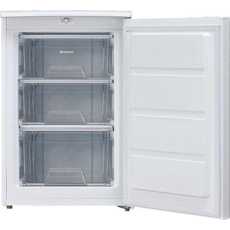 Hotpoint-Freezer-Free-standing-CTZ-55-P-White-Frontal-open