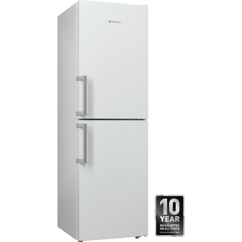 Hotpoint-Fridge-Freezer-Free-standing-XECO85-T2I-WH-White-2-doors-Perspective