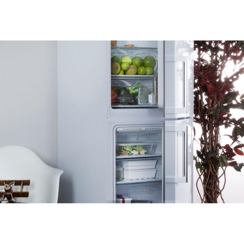 Hotpoint-Fridge-Freezer-Free-standing-XECO85-T2I-WH-White-2-doors-Lifestyle-perspective-open