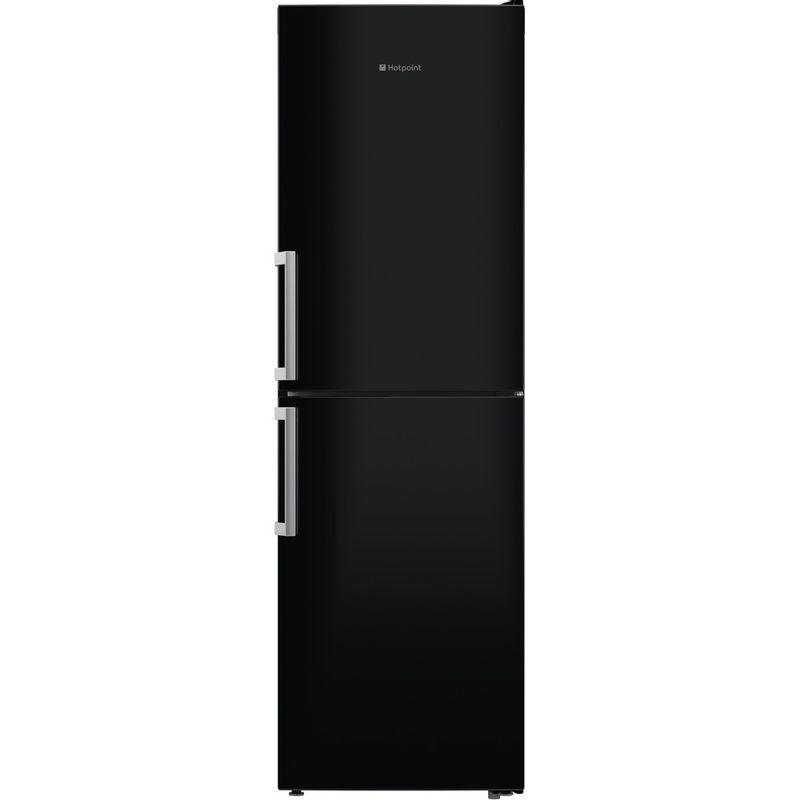 Hotpoint-Fridge-Freezer-Free-standing-XECO85-T2I-KH-Black-2-doors-Frontal