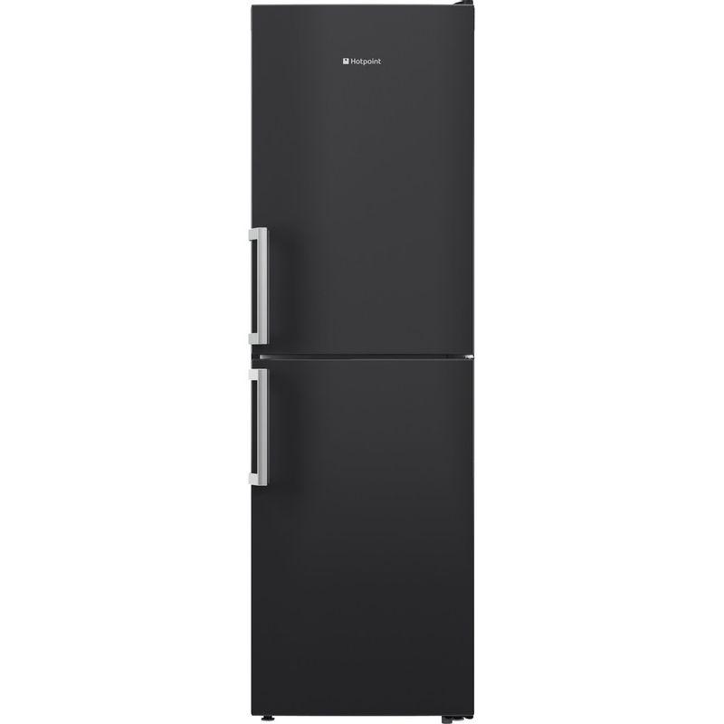 Hotpoint-Fridge-Freezer-Free-standing-XECO85-T2I-GH-Graphite-2-doors-Frontal