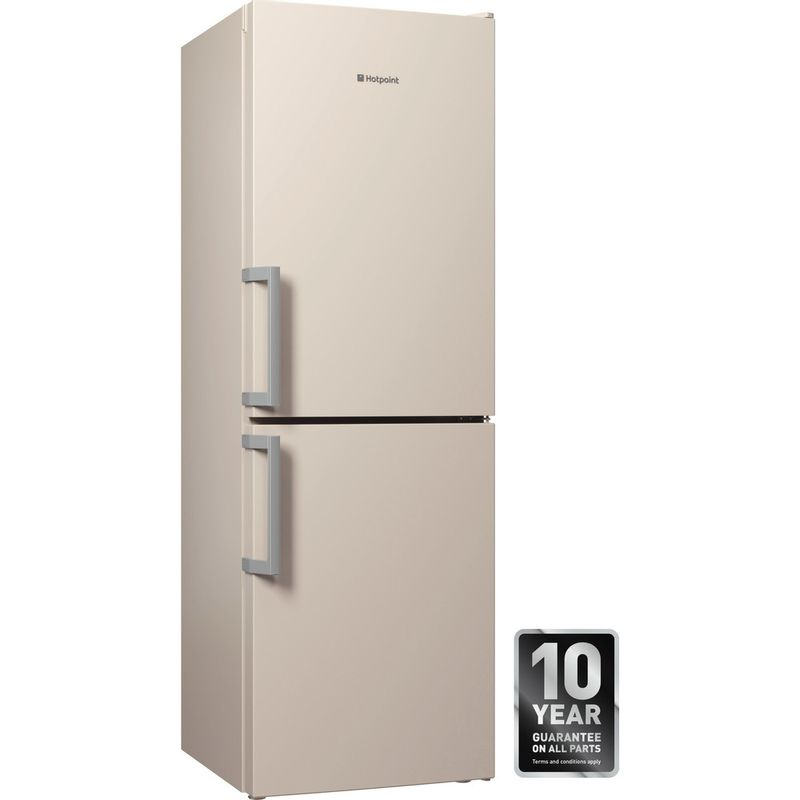 Hotpoint-Fridge-Freezer-Free-standing-LECO7-FF2-WH-White-2-doors-Perspective