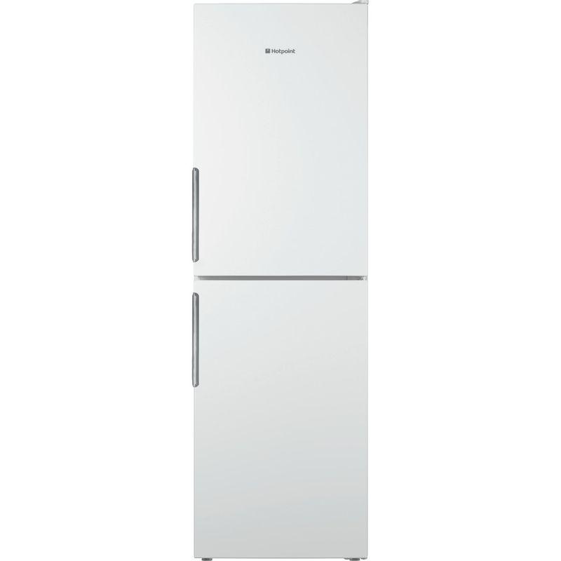 Hotpoint-Fridge-Freezer-Free-standing-LEX85-N1-W-White-2-doors-Frontal