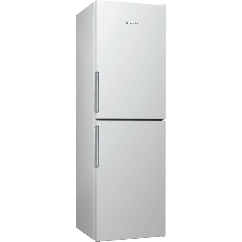 Hotpoint-Fridge-Freezer-Free-standing-LEX85-N1-W-White-2-doors-Perspective