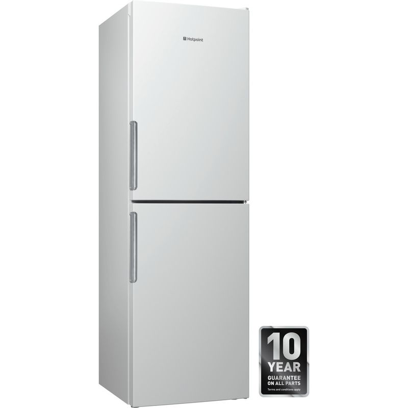 Hotpoint-Fridge-Freezer-Free-standing-LEX85-N1-W-White-2-doors-Award
