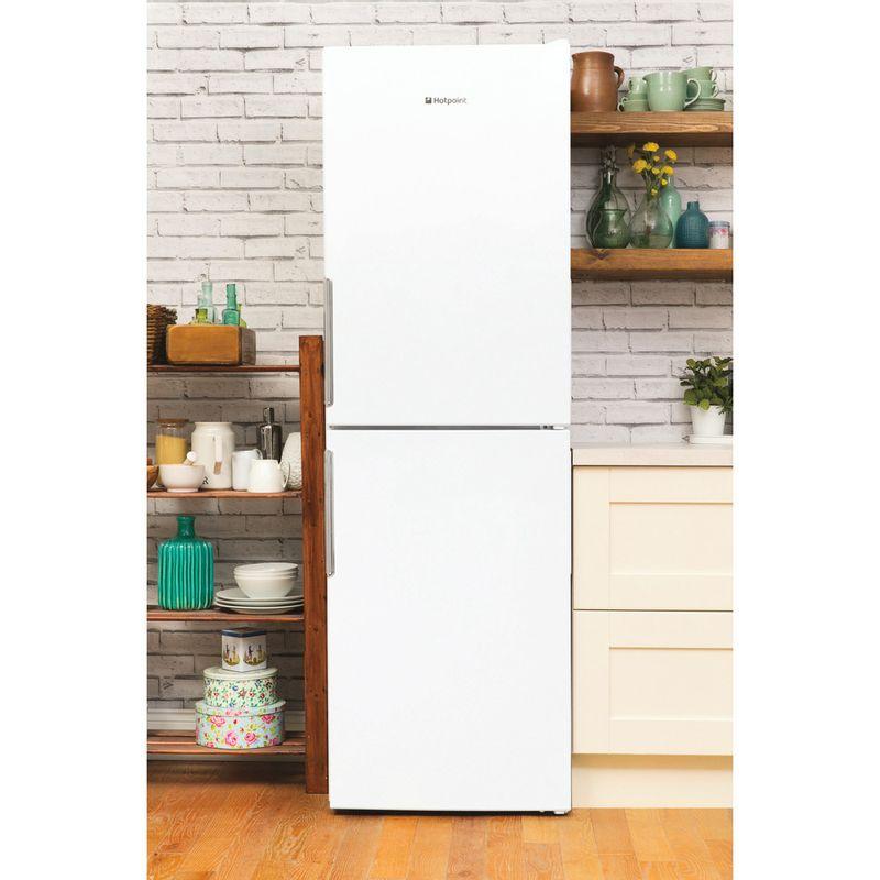 Hotpoint-Fridge-Freezer-Free-standing-LEX85-N1-W-White-2-doors-Lifestyle-frontal