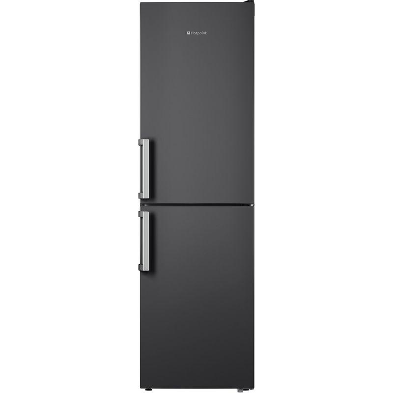 Hotpoint-Fridge-Freezer-Free-standing-XAG95-T1I-GH-Graphite-2-doors-Frontal
