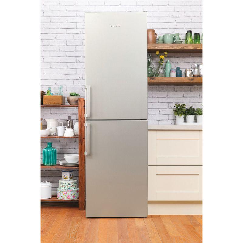 Hotpoint-Fridge-Freezer-Free-standing-XAG95-T1I-GH-Graphite-2-doors-Lifestyle-frontal
