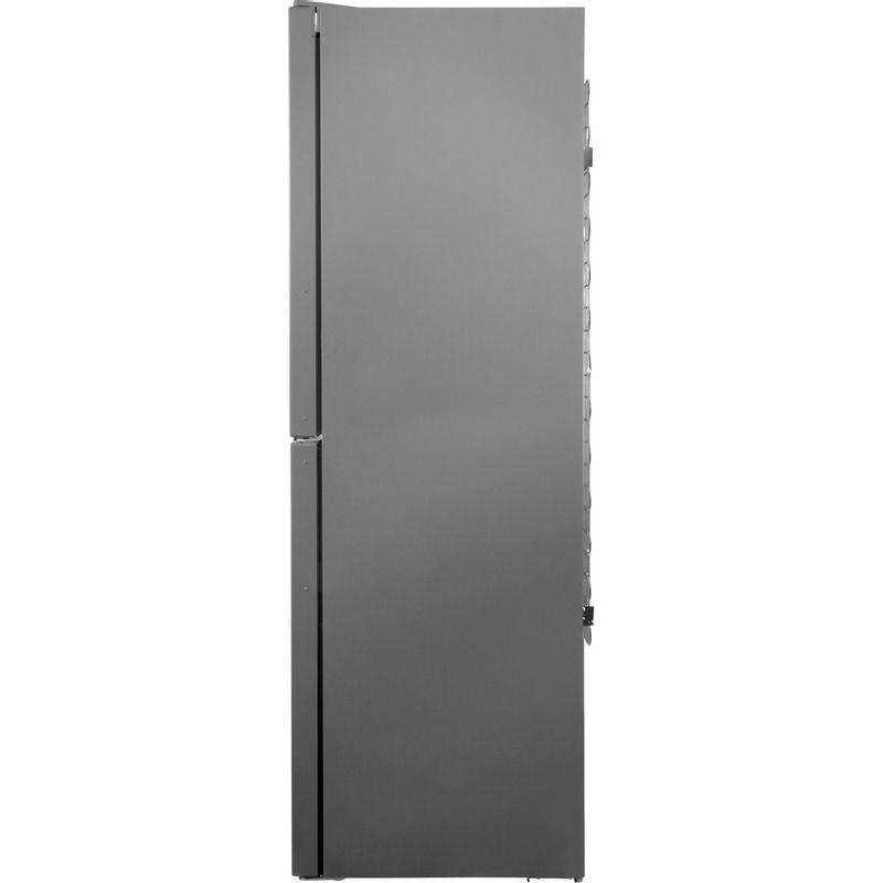 Hotpoint-Fridge-Freezer-Free-standing-XAG95-T1I-GH-Graphite-2-doors-Back---Lateral