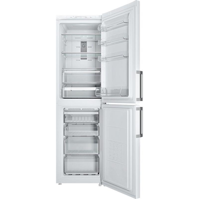 Hotpoint-Fridge-Freezer-Free-standing-XJL95-T2U-WOH-White-2-doors-Frontal_Open