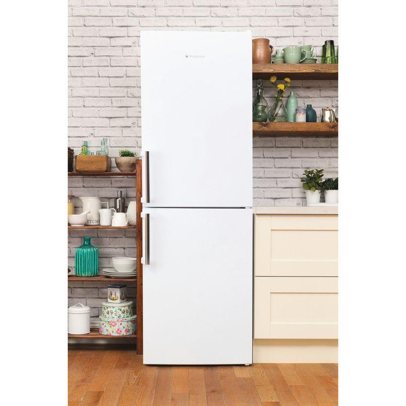 Hotpoint-Fridge-Freezer-Free-standing-XAL95-T1U-WOJH-White-2-doors-Lifestyle-frontal