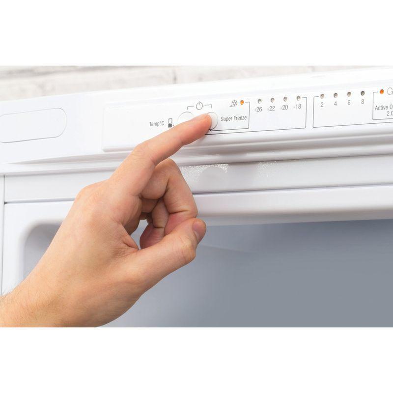Hotpoint-Fridge-Freezer-Free-standing-XAL95-T1U-WOJH-White-2-doors-Lifestyle-people