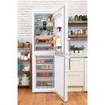 Hotpoint-Fridge-Freezer-Free-standing-XAL95-T1U-WOJH-White-2-doors-Lifestyle-frontal-open