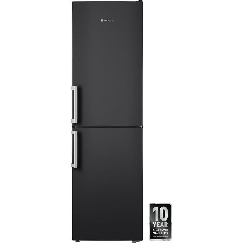 Hotpoint-Fridge-Freezer-Free-standing-XECO95-T2I-GH-Graphite-2-doors-Frontal